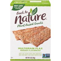 Back To Nature Multigrain Flax Flatbread Crackers 5.5oz Box product image