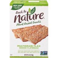 Back To Nature Multigrain Flax Flatbread Crackers 5.5oz Box product image