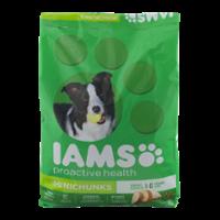 Iams Adult Dry Dog Food ProActive Health Mini Chunks 15LB Bag product image