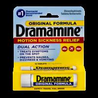 Dramamine Tablets Original Formula 12CT product image