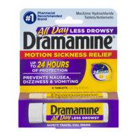 Dramamine Tablets Less Drowsy Formula 8CT product image