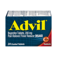 Advil Ibuprofen 200 mg Tablets 24CT product image
