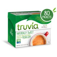 Truvia Sweetener 80 Packet Count Box product image