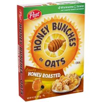 Post Honey Bunches of Oats Crunchy Honey Roasted 14.5oz Box product image