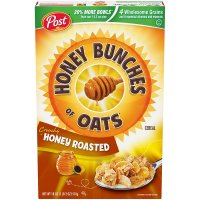 Post Honey Bunches of Oats Crunchy Honey Roasted 18oz Box product image