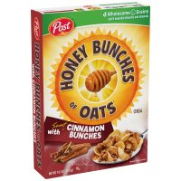 Post Honey Bunches of Oats with Sweet Cinnamon Bunches 14.5oz Box product image