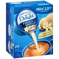 International Delight Creamer French Vanilla 24CT Single Serve PKG product image