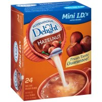 International Delight Creamer Hazelnut 24CT Single Serve PKG product image