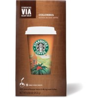 Starbucks VIA Ready Brew Instant Coffee Colombia 8 Packets 0.93oz product image