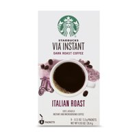 Starbucks VIA INSTANT Dark Roast Coffee Italian 8 Packets 0.93oz product image