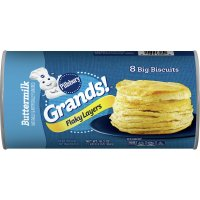 Pillsbury Grands Biscuits Flaky Layers Buttermilk 8CT 16.3oz PKG product image