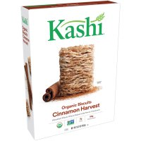 Kashi Whole Wheat Biscuits Cinnamon Harvest Cereal 16.3oz Box product image