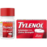 Tylenol Extra Strength Pain Reliever Caplets 24CT Box product image