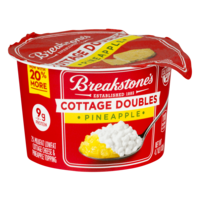Breakstone's Cottage Cheese Doubles Pineapple 4.7oz product image