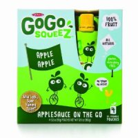 Materne GoGo Squeez Apple Apple Applesauce On The Go 3.2oz Pouch 4PK product image