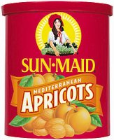 Sun Maid Mediterranean Apricots Dried 15oz Canister product image
