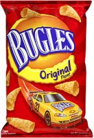 Bugles Corn Snacks Original 3oz Bag product image