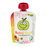 Buddy Fruits Pure Blended Fruit Apple & Multifruit 3.2oz Pouch product image