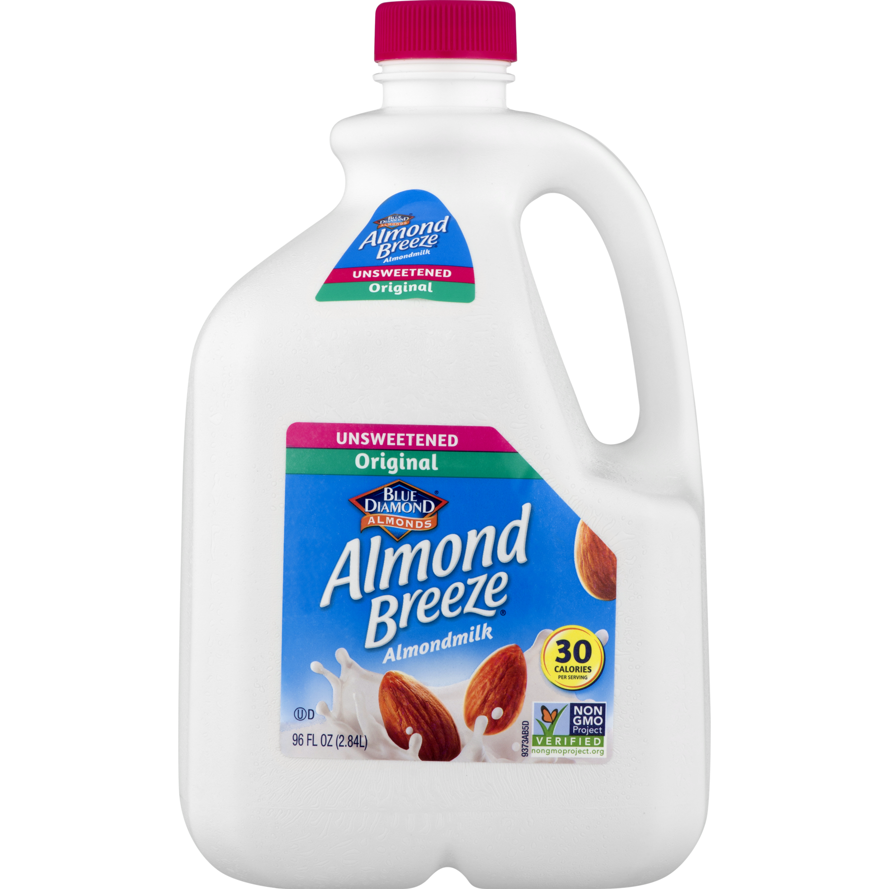 Almond Breeze Unsweetened Original Almondmilk 96oz CTN product image