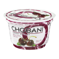 Chobani Non-Fat Greek Yogurt Black Cherry 5.3oz Cup product image