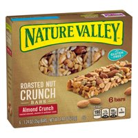 Nature Valley Roasted Nut Brittle Almond Crunch 1.2oz Bars 6Count Box product image