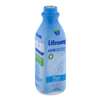 Lifeway Lowfat Kefir Cultured Milk Smoothie Plain 32oz Bottle product image