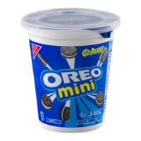 Nabisco Mini Oreo Bite Size Go-Paks! 1CT 3.5oz PKG product image