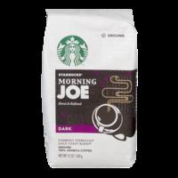 Starbucks Coffee Morning Joe (Ground) 12oz Bag product image