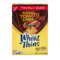 Nabisco Wheat Thins Crackers Sundried Tomato & Basil 15oz Box product image