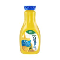 Tropicana Trop50 Orange Juice Beverage Some Pulp 52oz BTL product image