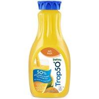 Tropicana Trop50 Orange Juice Beverage No Pulp 52oz BTL product image