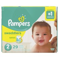Pampers Swaddlers Size 2 29CT PKG product image