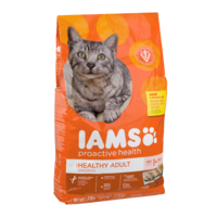 Iams Healthy Adult Dry Cat Food Original Formula with Chicken 8LB Bag product image