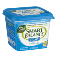 Smart Balance Buttery Spread Light with Flaxseed Oil 15oz Tub product image