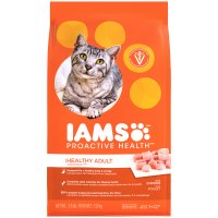 Iams Adult Dry Cat Food Original Formula Chicken 3.2LB Bag product image