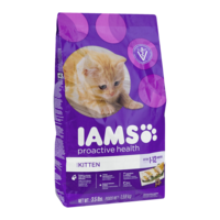 Iams Kitten Formula Dry Food 3.5LB Bag product image