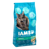 Iams Weight & Hairball Control Formula Dry Cat Food 3.5LB Bag product image