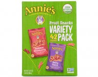 Annie's Organic Fruit Snacks Variety Pack 0.8oz Pouches 42Count product image