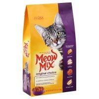 Meow Mix Original Mix Dry Cat Food 3.15LB Bag product image