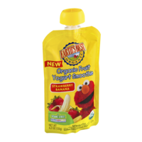 Earth's Best Organic Fruit Yogurt Smoothie Strawberry Banana 4.2oz Pouch product image