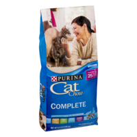 Purina Cat Chow Complete Formula Dry Cat Food 6.3LB Bag product image