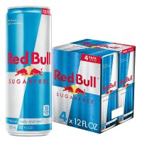 Red Bull Sugar Free Energy Drink 4PK of 12oz Cans product image
