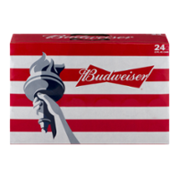 Budweiser Beer Suitcase 24CT 12oz Cans *ID Required* product image