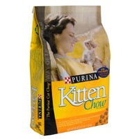 Purina Kitten Chow Dry Food 3.5LB Bag product image