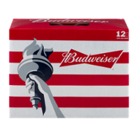 Budweiser Beer 12CT 12oz Cans *ID Required* product image