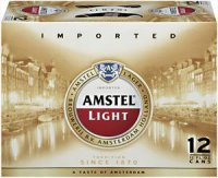Amstel Light Beer 12CT 12oz Cans *ID Required* product image