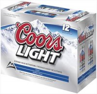 Coors Light Beer 12CT 12oz Cans *ID Required* product image