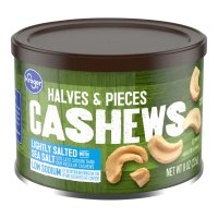 Store Brand Cashew Halves & Pieces Lightly Salted 8oz Can product image