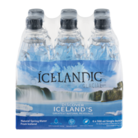 Icelandic Glacial Natural Spring Water from Iceland 6PK 16.9oz Bottles product image
