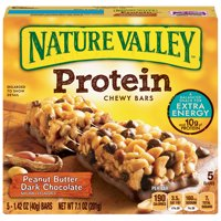 Nature Valley Protein Chewy Bars Peanut Butter Dark Chocolate 5CT 7.1oz product image